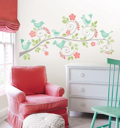 Pretty Tweet Wall Art Kit Wall Decal