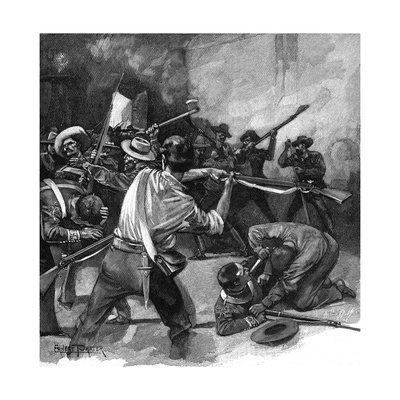 Remember the Alamo! Giclee Print by Ernest Prater