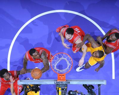 Houston Rockets v Los Angeles Clippers Foto af Andrew D. Bernstein