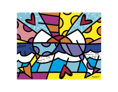 Cheers Art by Romero Britto