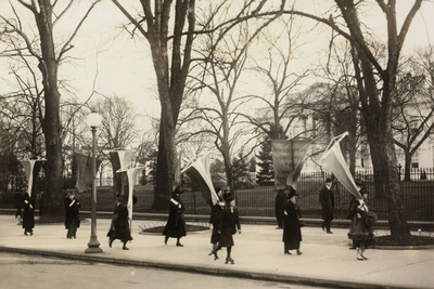 1917 Suffragettes Womens Rights Protest Archival Photo Poster Prints