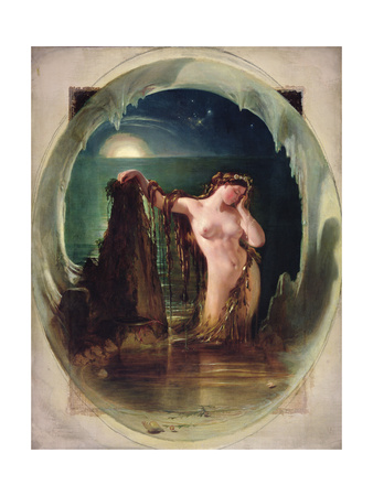 The Origin of the Harp, C.1842 Giclee Print by Daniel Maclise