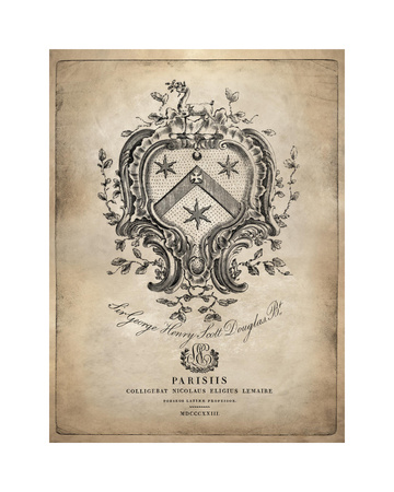 Heraldry IV Giclee Print by Oliver Jeffries