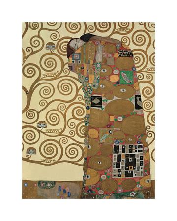 Fulfillment, Stoclet Frieze, c.1909 Giclee Print by Gustav Klimt
