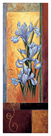 Iris Giclee Print by Jill Deveraux