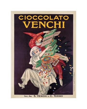 Cioccolato Venchi Giclee Print by Leonetto Cappiello