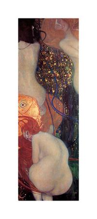 Peces dorados Lámina giclée por Gustav Klimt