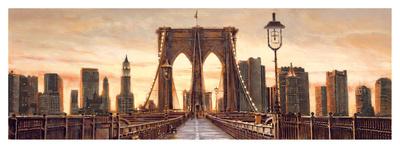 Manhattan Evening Giclee Print by Matthew Daniels