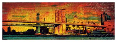 New York Memories Giclee Print by Julia Casey