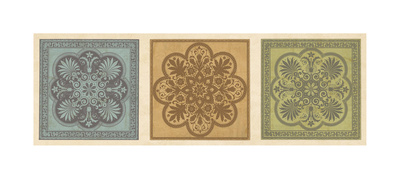 Classical Tiles I Giclee Print by Jenny Oliver