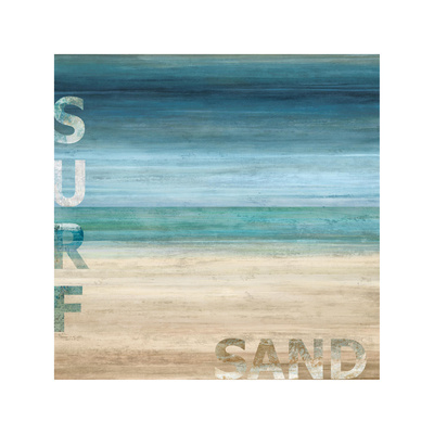 Surf and Sand Giclee Print by Luke Wilson