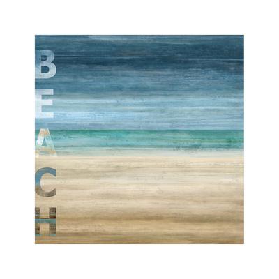 Beach Giclee Print by Luke Wilson