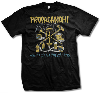 Propagandhi - How To Clean Everything Shirts