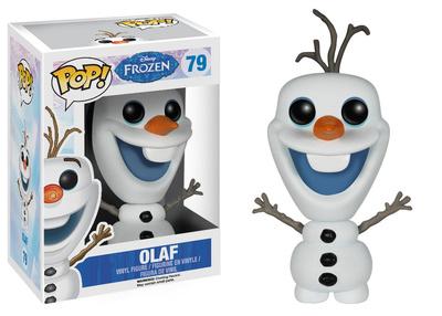 Disney Pixar Olaf Frozen POP Figure Holiday novelty gift vinyl bobblehead figurine