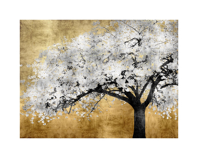 Silver Blossoms Giclee Print by Kate Bennett