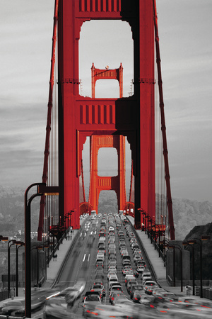 Sf Golden Gate Bridge Print