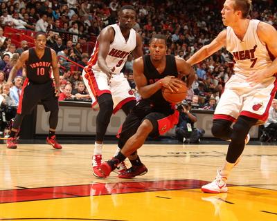 Toronto Raptors v Miami Heat Photo by Issac Baldizon
