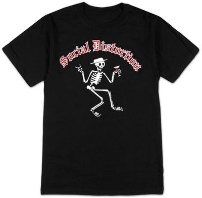 Social Distortion - Skelly T-shirts