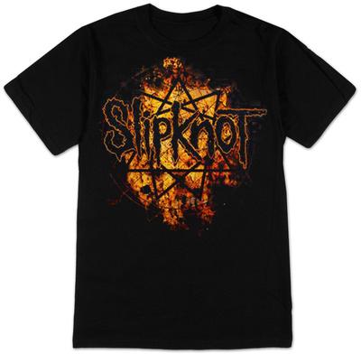 Slipknot - Radio Fires Logo Shirts