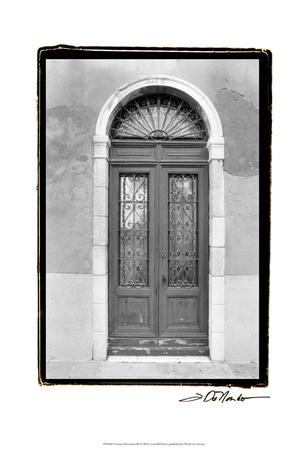Venetian Doorways III Print by Laura Denardo
