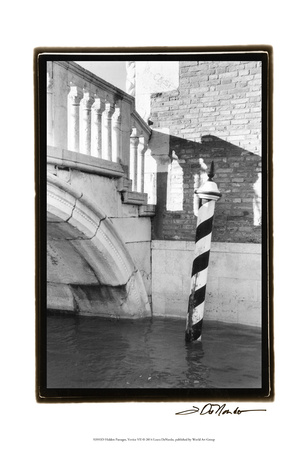 Hidden Passages, Venice VII Posters by Laura Denardo