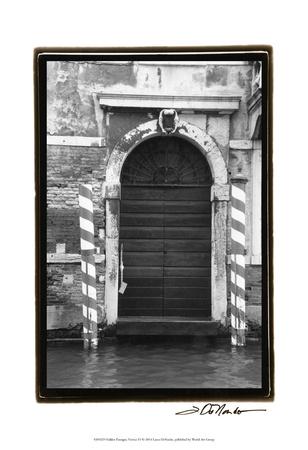 Hidden Passages, Venice VI Art by Laura Denardo