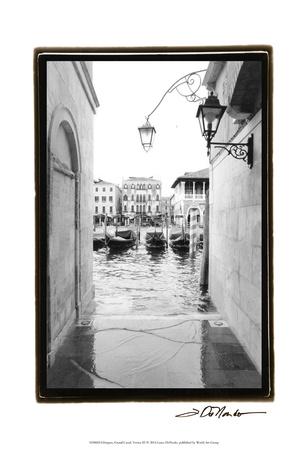 Glimpses, Grand Canal, Venice III Prints by Laura Denardo