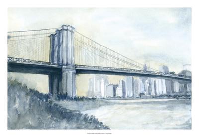 City Bridge I Giclee Print by Megan Meagher
