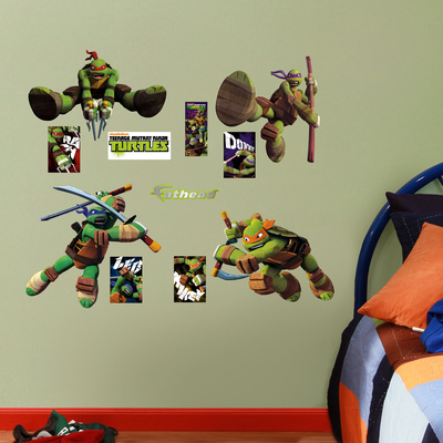 Teenage Mutant Ninja Turtles - Fathead Jr. Wall Decal