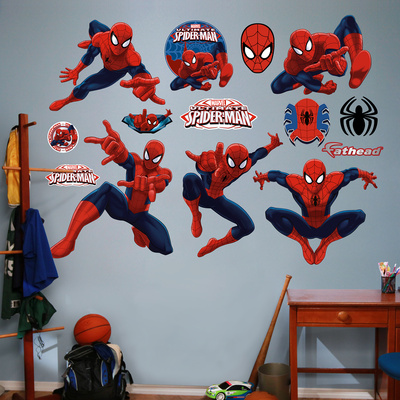 Ultimate Spider-Man Collection Wall Decal