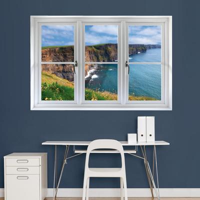 Irish Cilffs: Instant Window Wall Decal