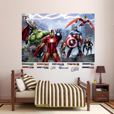 Marvel Avengers Assemble Mural Wall Mural