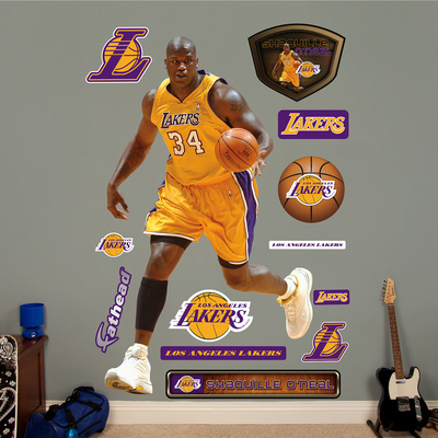Shaquille O'Neal Wall Decal