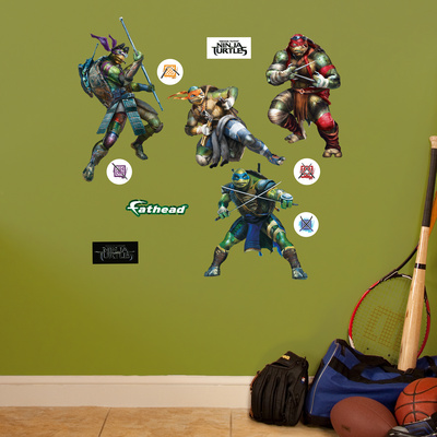 Teenage Mutant Ninja Turtles Movie Collection - Fathead Jr. Wall Decal