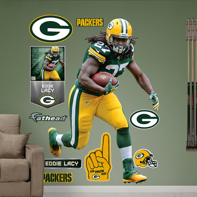 Eddie lacy no shirt