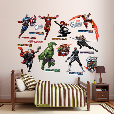 Marvel Avengers Assemble Collection Wall Decal