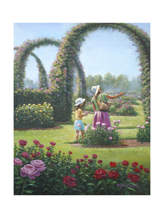 Mother Daughter Day Giclee Print by Bruce Dumas