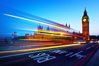 London Big Ben Photographic Print by Nina Papiorek