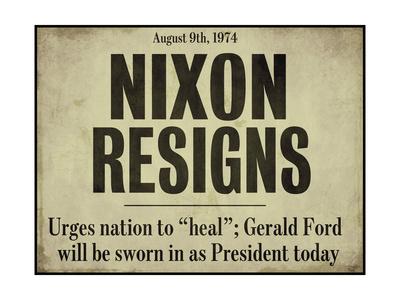Nixon Giclee Print