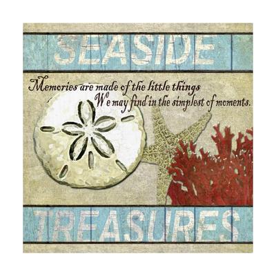 Seaside Treasures Giclee Print by Karen Williams
