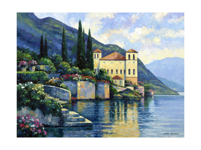 Reflections of Lago Maggiore Giclee Print by John Zaccheo