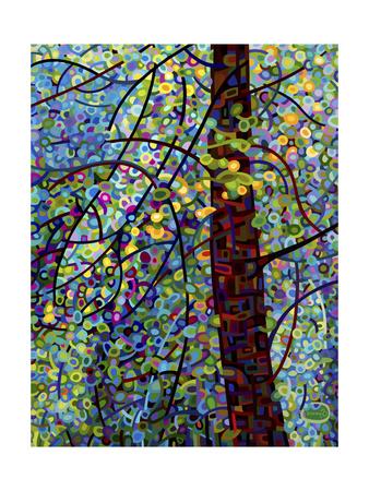 Pine Sprites Giclee Print by Mandy Budan