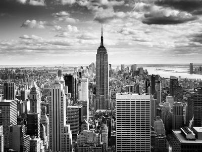 NYC Downtown Fotografie-Druck von Nina Papiorek