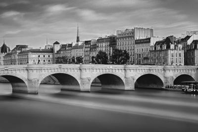 Paris River Photographic Print by Moises Levy