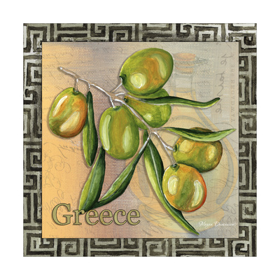 Olive Oil 4 Giclee Print by Megan Aroon Duncanson