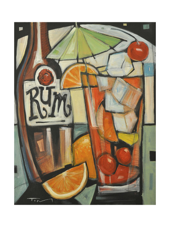 Tourist Drink Giclee Print by Tim Nyberg