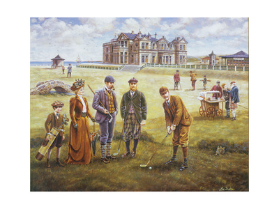 St Andrews Giclee Print by Lee Dubin