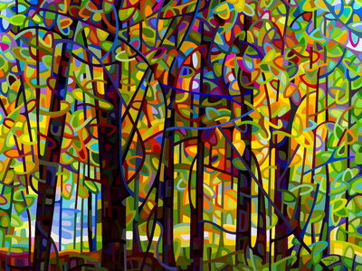 Standing Room Only Giclee Print by Mandy Budan