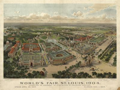 St Louis Worlds Fair Giclee Print
