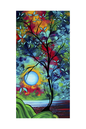 Under the Light of the Blue Moon I Giclee Print by Megan Aroon Duncanson